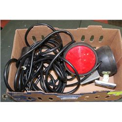 SET OF MAGNETIC TOWING LIGHTS