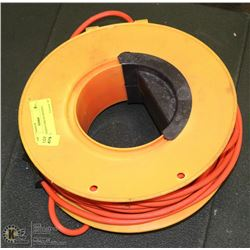 EXTENSION CORD ON WINDING REEL