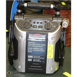 MOTOMASTER ELIMINATOR BATTERY BOOSTER PACK WITH