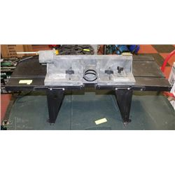 SEARS CRAFTSMAN ROUTER TABLE WITH UNITIZED