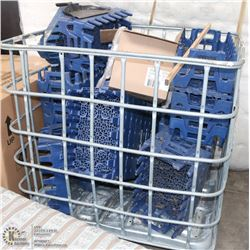METAL CRATE WITH PEPSI FLATS