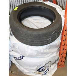 SET OF 4 -SIZE 205/55/R16 MUD AND SNOW TIRES