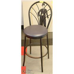METAL BACK BAR STOOL
