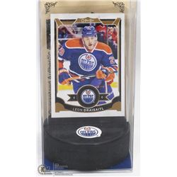 "LEON DRAISAITL GUARANTEED AUTHENTIC ""ROOKIE""  CARD"