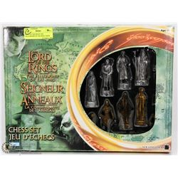 LORD OF THE RINGS THE FELLOWSHIP OF THE RING CHESS