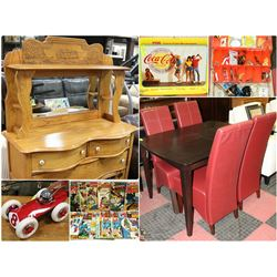 FEATURED LARGE ASSORTMENT OF ESTATE MISC . ,