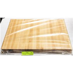 HARD CANADIAN MAPLE CARVING BOARD NEW