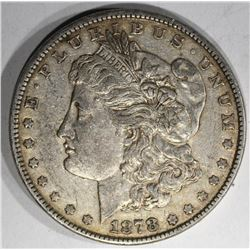 1878 REV 79 MORGAN DOLLAR, ORIGINAL AU+
