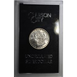 1884-CC GSA MORGAN DOLLAR, CH BU IN ORIG BOX