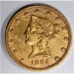 1894 $10.00 DOLLAR GOLD LIBERTY, AU