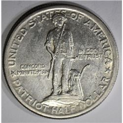 1925 LEXINGTON COMMEM HALF DOLLAR  BU