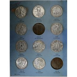 WALKING LIBERTY HALF DOLLAR COLLECTION: