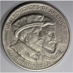 1924 HUGUENOT-WALLOON COMMEM HALF DOLLAR