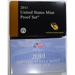 2010 & 2011 U.S. PROOF SETS