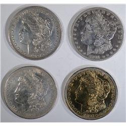 1901-O, 3-1921 MORGAN DOLLARS