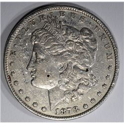 1878 8F MORGAN DOLLAR  XF