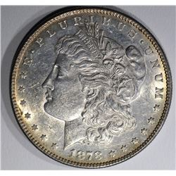 1878 7F MORGAN DOLLAR  AU/UNC