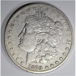 1878-CC MORGAN DOLLAR  F-VF