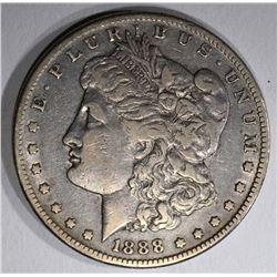 1888-S MORGAN DOLLAR  VF