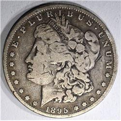 1895-O MORGAN DOLLAR  G-VG