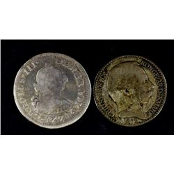 1878 DANISH WEST INDIES 5c & 1774