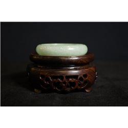 Grade A Burma Jadeite Bracelet,One Small Crack