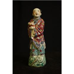 A Late Qing Dynasty Statue