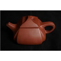 """Hu,Aojun"" Yixing Teapot. Hu,Aojun who was born in 1955 in Yixing, is one of the most famous Chinese"