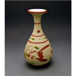 "A ""Ci Zhou"" kiln Painted Bottle Vase;  Jin Dynasty (AD1122-1234)"