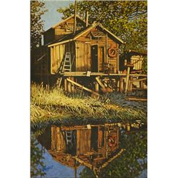 Carbin Reflected; Dan Varnals (1931-), who was born in London, UK, is one of the most famous artist