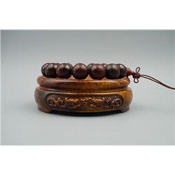 Zi Tan beads bracelet