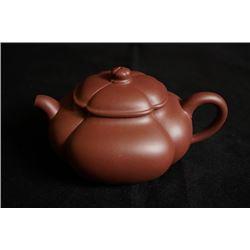 """""""Tian Yu"""" Yixing Teapot, Zisha Purple Clay?Ceramic Artist: Mao,Ping"""