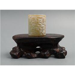 Zhou Dynasty(BC 1047-BC 771); Jade bead