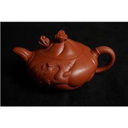 """""""Yu Hua Long"""" Yixing Teapot, Red Clay?Ceramic Artist: Mao,Ping"""