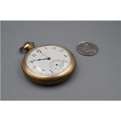An Old Elgin Pocket Watch. Working Condition Unknown. Elgin was established in the United States in