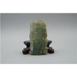 """""""Zhong Kui"""" Jade Pendant"""