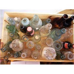 Lot Mixed Bottles