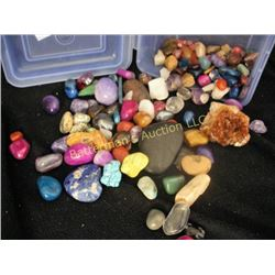 Lot of Gemstones and Fossils