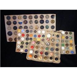 Lot Large Vintage Buttons