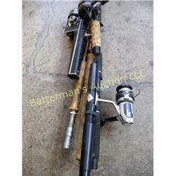 Older Fishing Rods and Reels