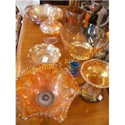 Carnival Glass Lot