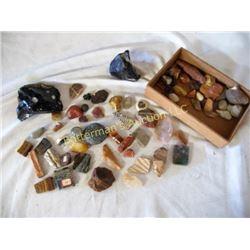 Lot Rocks, Petrified Wood, Pot Shards