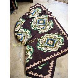 Bolivian Wool Blanket / Rug