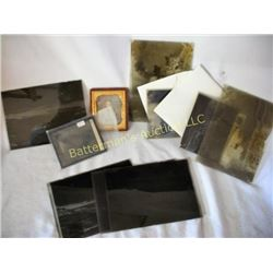 Daguerreotype and Glass Plates