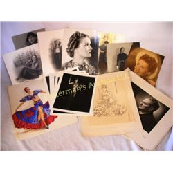 Lot of Vintage Glamour, Fashion and Exotic Images