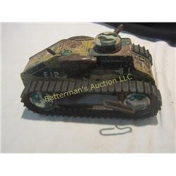 1940's Marx Tin Wind Up Tank