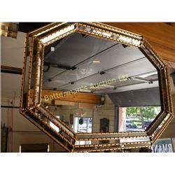 Fancy Octagonal Mirror