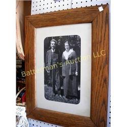 Vintage Portrait of Couple