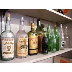 Lot of Old Bottles