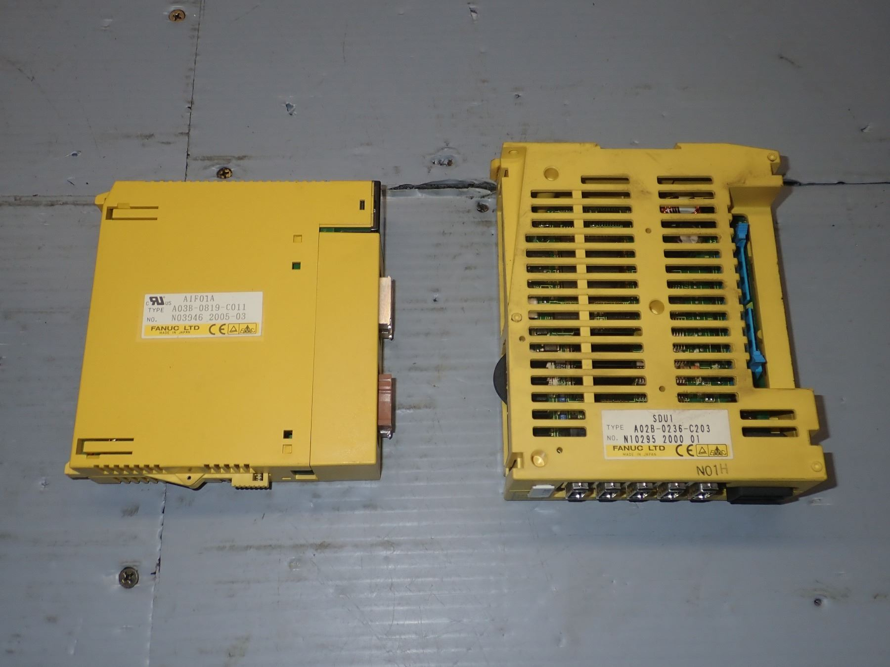 FANUC MISC  MODULES *LOT OF 7* *SEE PICS FOR P/NS*